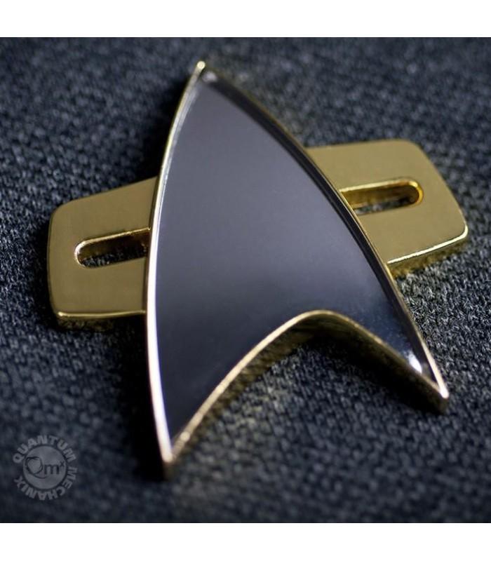 Insignia Comunicación Flota Estelar Star Trek Voyager Réplica