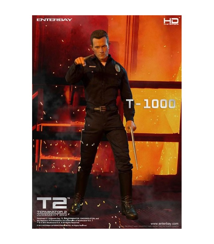 Figura T-1000 HD Masterpiece Terminator 2 Escala 1:4
