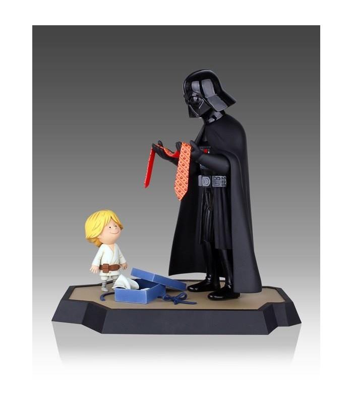 Estatua Darth Vader e Hijo Maquette Star Wars