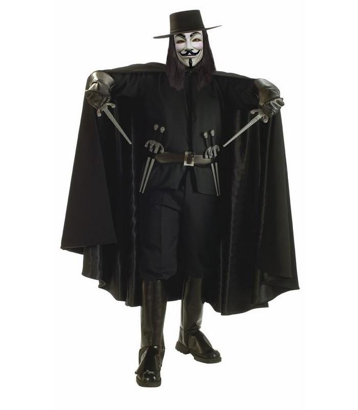 Disfraz V de Vendetta (Deluxe)