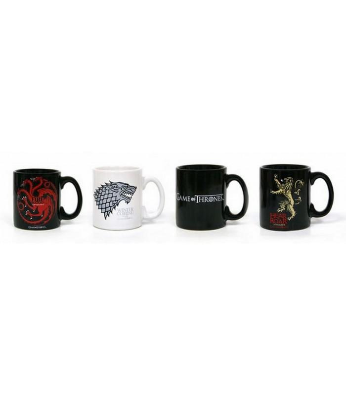 Set de 4 tazas de café