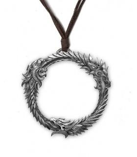 The Elder Scrolls V Skyrim Llavero metálico Dragon Symbol