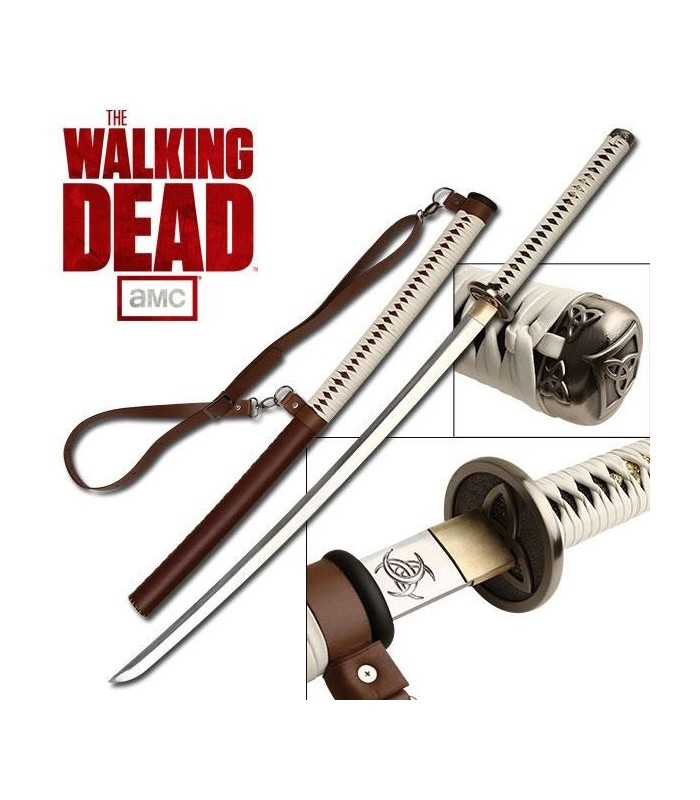 Katana Michonne The Walking Dead Signature Réplica Escala 1:1