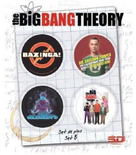 Big Bang Theory Pack 4 Chapas Set B