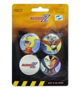 Mazinger Z Set de chapas B