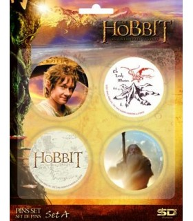 Pack 4 Chapas Set A El Hobbit