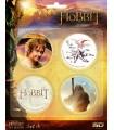 Pack 4 Chapas Set A El Hobbit