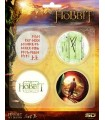 Pack 4 Chapas Set B El Hobbit