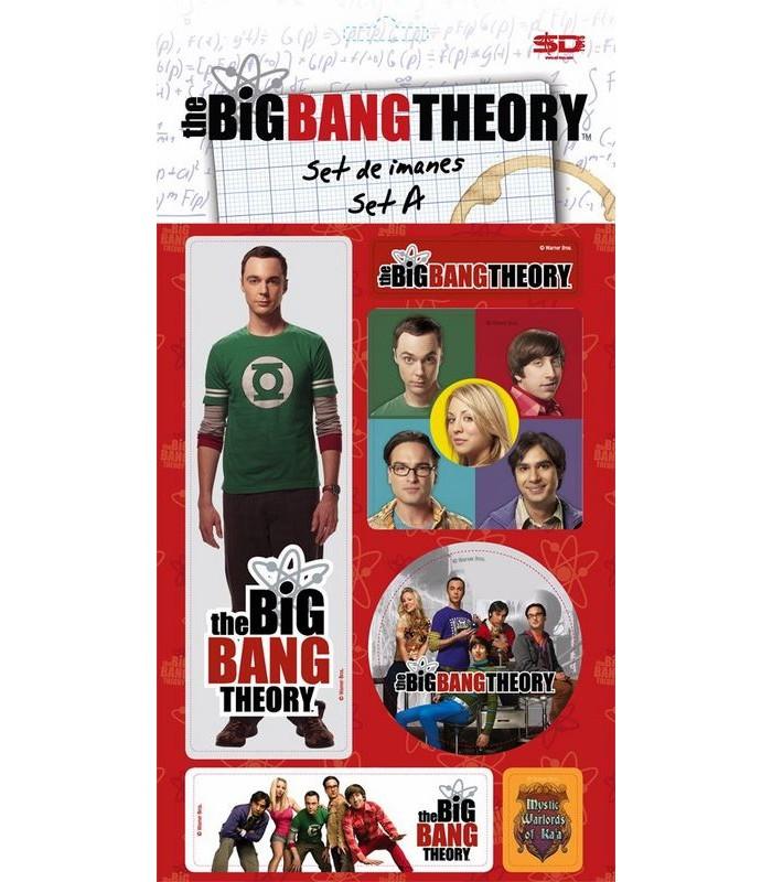 Set de Imanes A Big Bang Theory