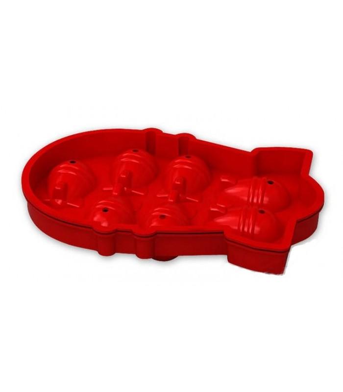Molde cubitera de bombas en 3D