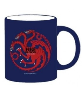 """Taza Juego de Tronos Mug """"Targaryen"""" (Azul)"""
