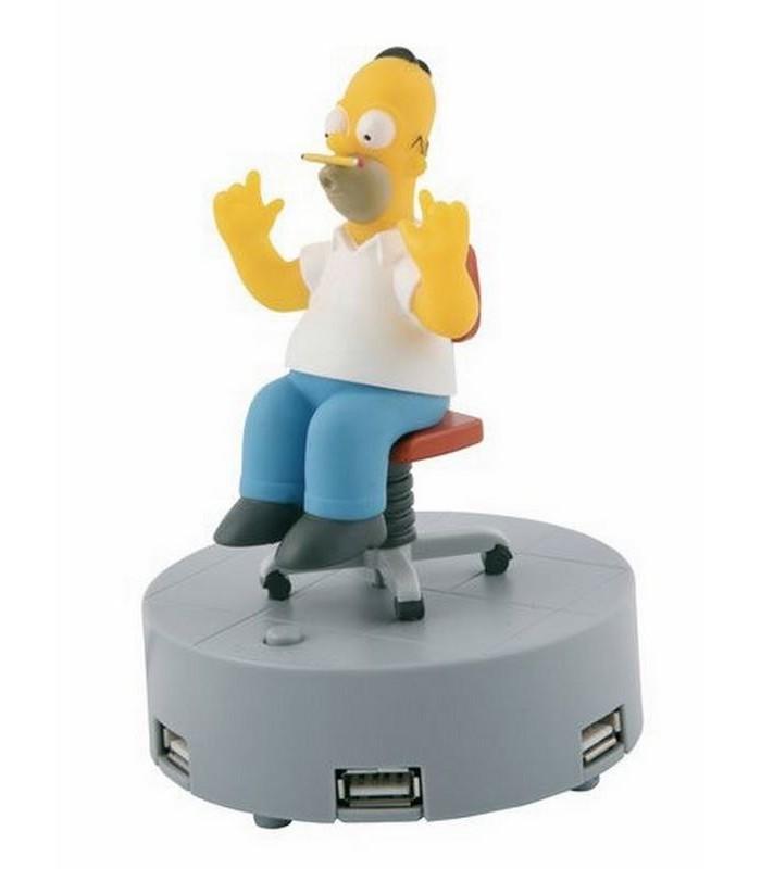 Hub USB Homer con sonido Los Simpson