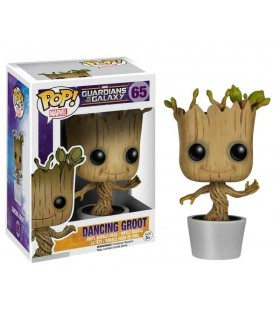 "Cabezón Dancing Groot Pop"" Vnyl Guardianes de La Galaxia"