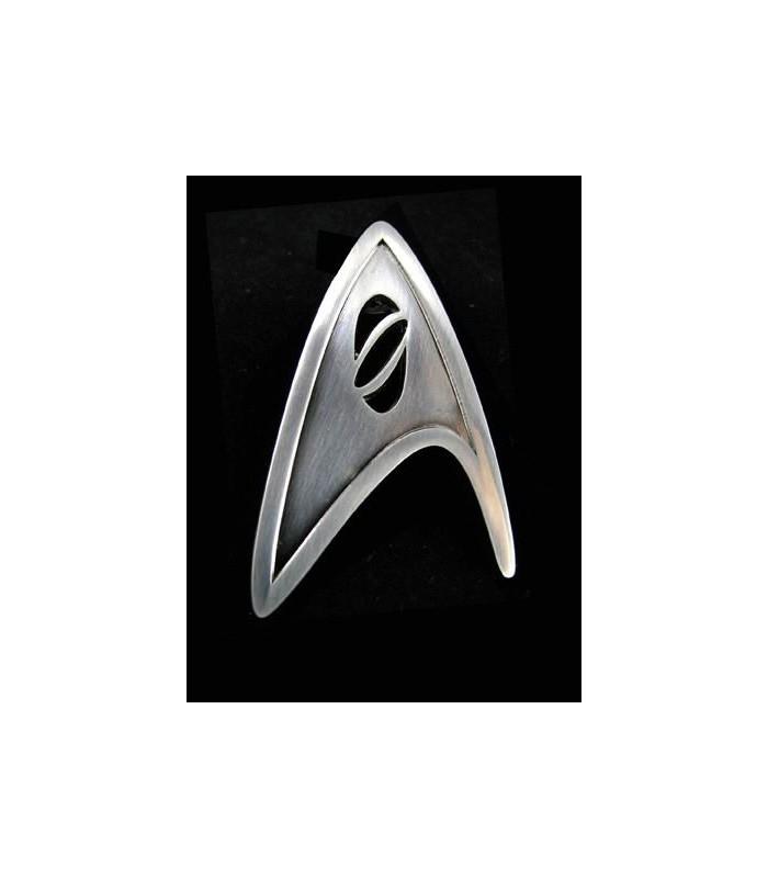 Star Trek 2009 réplica insignia oficial científico de la Flota Estelar
