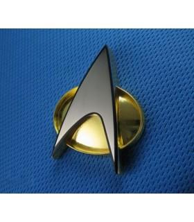 Insignia Comunicación Flota Estelar Star Trek Réplica 1:1