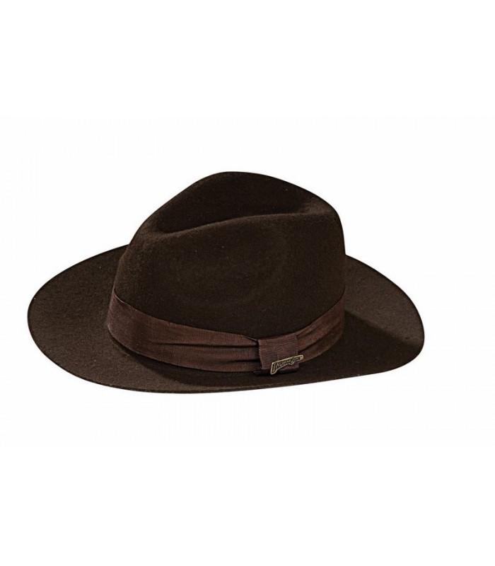 Sombrero de Indiana Jones Estilo Fedora Deluxe de Rubies