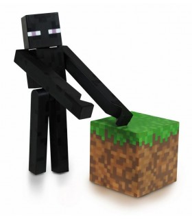 Figura Enderman Minecraft 8 cm