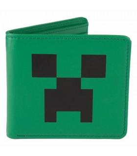 Monedero de Cuero Creeper Face Minecraft