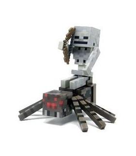 Figura Spider Jockey Minecraft 8 cm