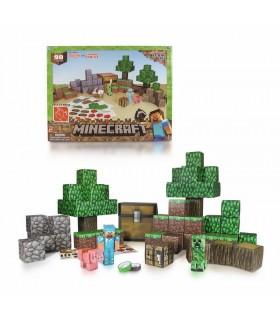 Set de Figuras Minecraft Papercraft Overworld Deluxe