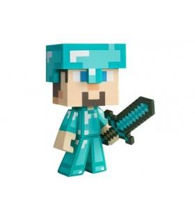Figura vinilo Diamond Steve Minecraft 15 cm