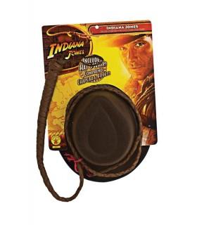 Sombrero y Látigo Indiana Jones de Rubies