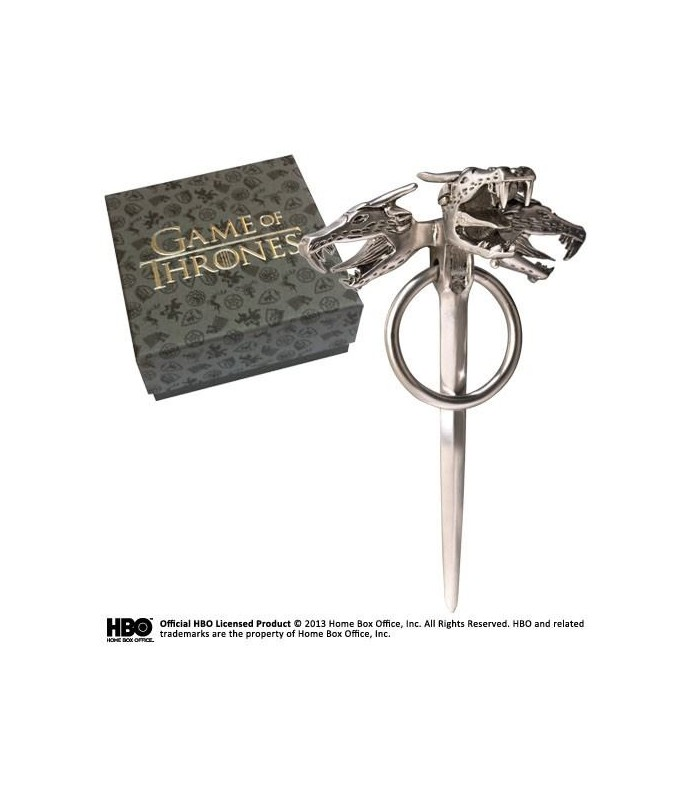 Pin Danaerys Targaryen cabezas de dragón - Juego de Tronos