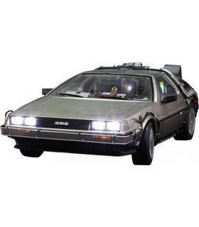 Vehículo DeLorean Time Machine Movie Masterpiece 1/6 de Regreso al Futuro