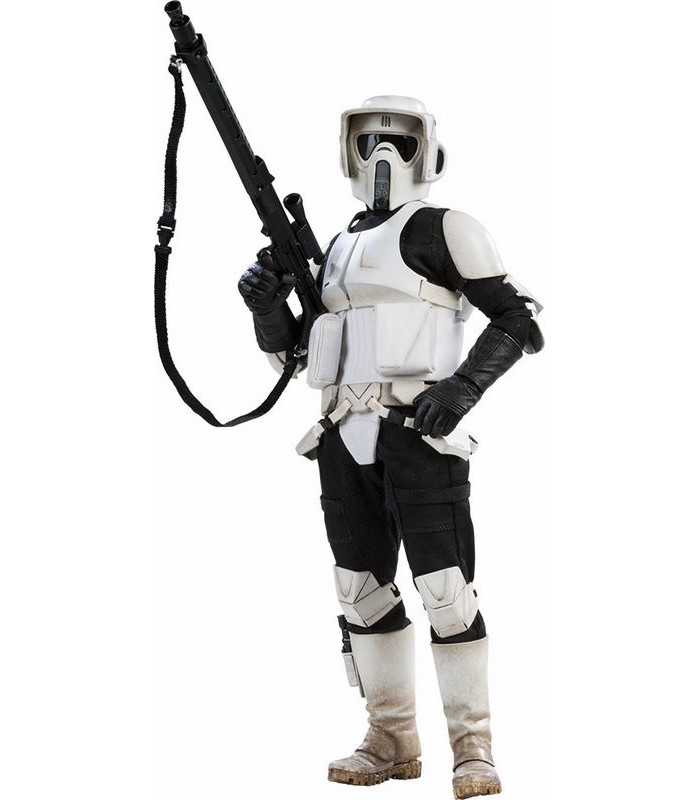 Figura Scout Trooper Star Wars de Sideshow Collectibles