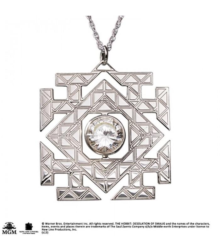 Colgante en plata de ley La piedra del Arca (The Arkenstone)- El Hobbit