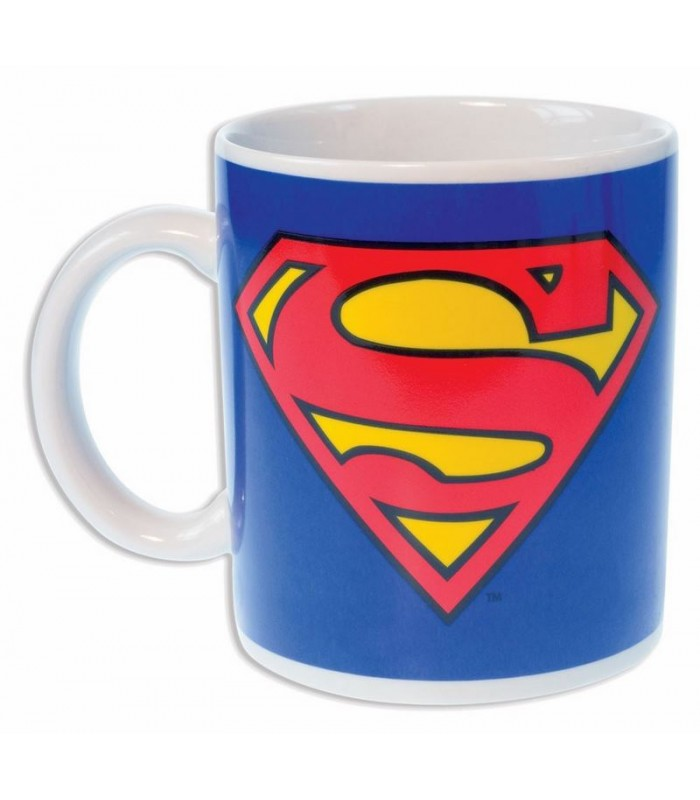 Taza logo Superman