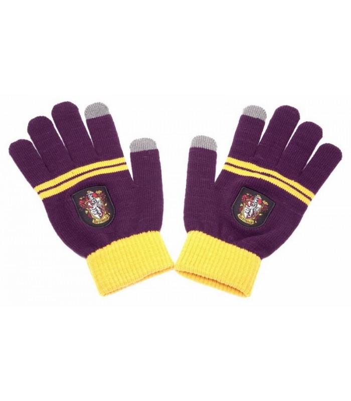 Guantes e-Touch Gryffindor Púrpura - Harry Potter