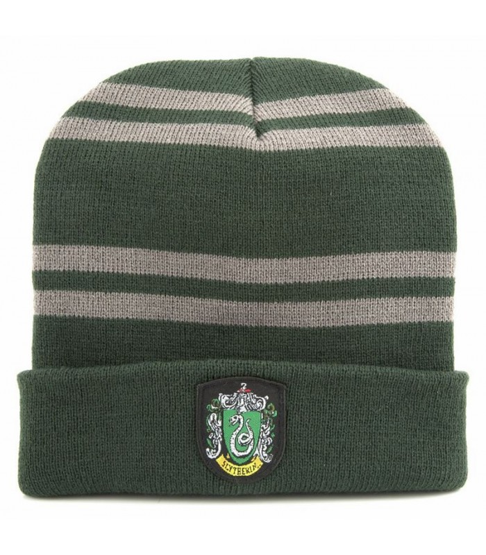 "Gorro ""beanie"" Slytherin - Harry Potter"