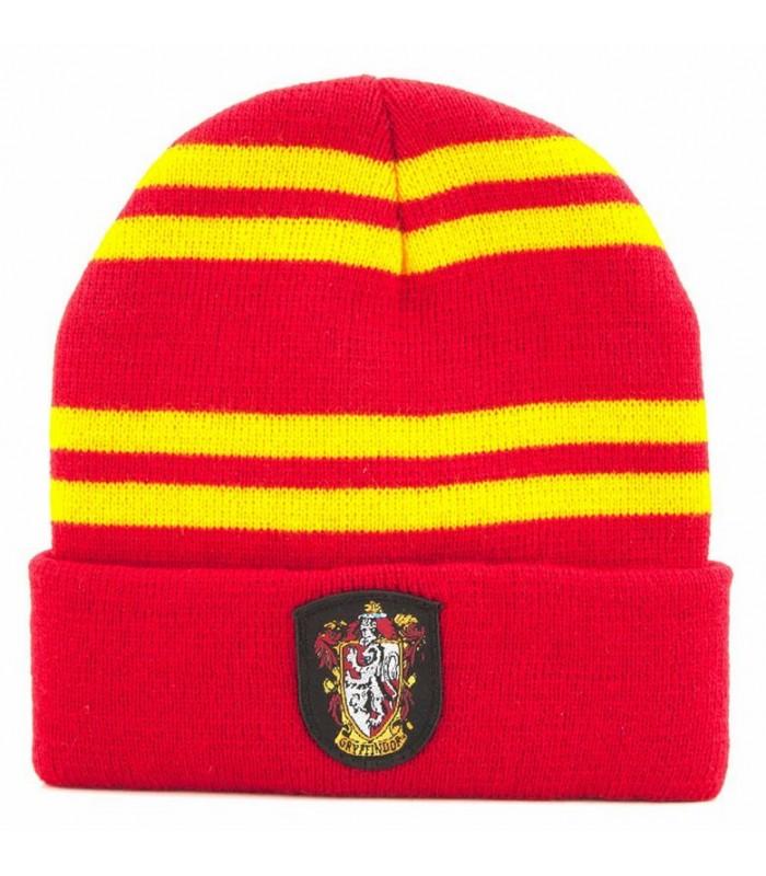 "Gorro ""beanie"" Gryffindor rojo-amarillo- Harry Potter"