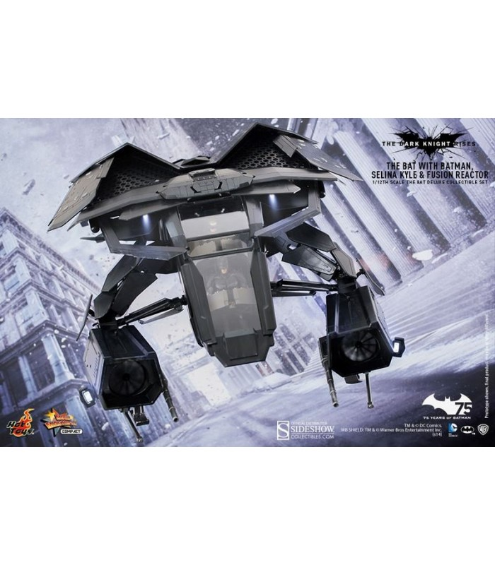 Vehículo Movie Masterpiece Compact 1/12 The Bat Deluxe - Batman