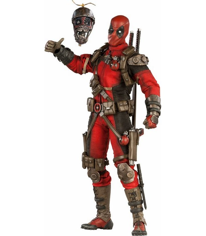 Figura Deadpool escala 1/6 Marvel Comics