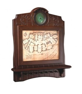 Llavero de pared en madera Mapa de Bag End - El Hobbit