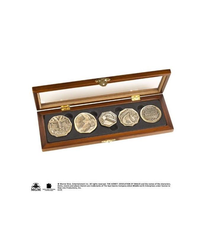Set de Monedas El Tesoro de los Enanos - El Hobbit