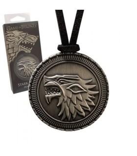 Llavero metálico Escudo Stark Juego de Tronos