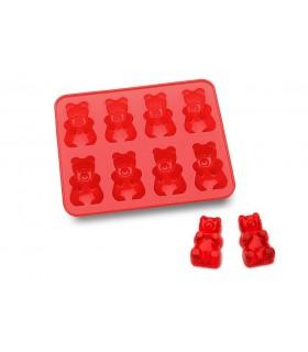 Molde cubitera de ositos de gominola (Gummy Bears)