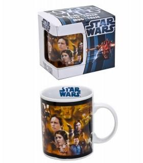 Taza de cerámica Star Wars Episodios I - IV