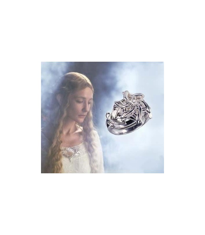 "Anillo de Galadriel, ""Nenya"" (Noble Collection)"