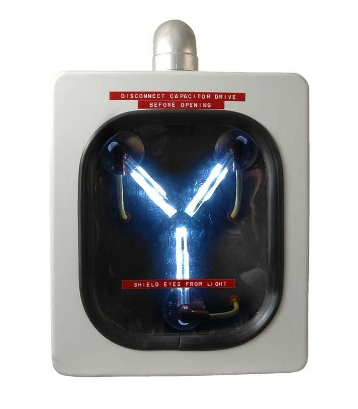 Condensador de Fluzo del DeLorean en Regreso al Futuro