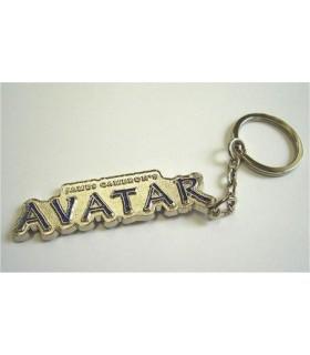 Llavero logo Avatar brilla en la oscuridad
