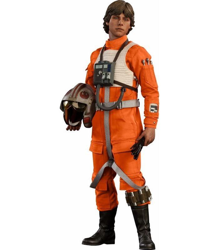 Figura Luke Skywalker con traje de piloto X-Wing - Star Wars