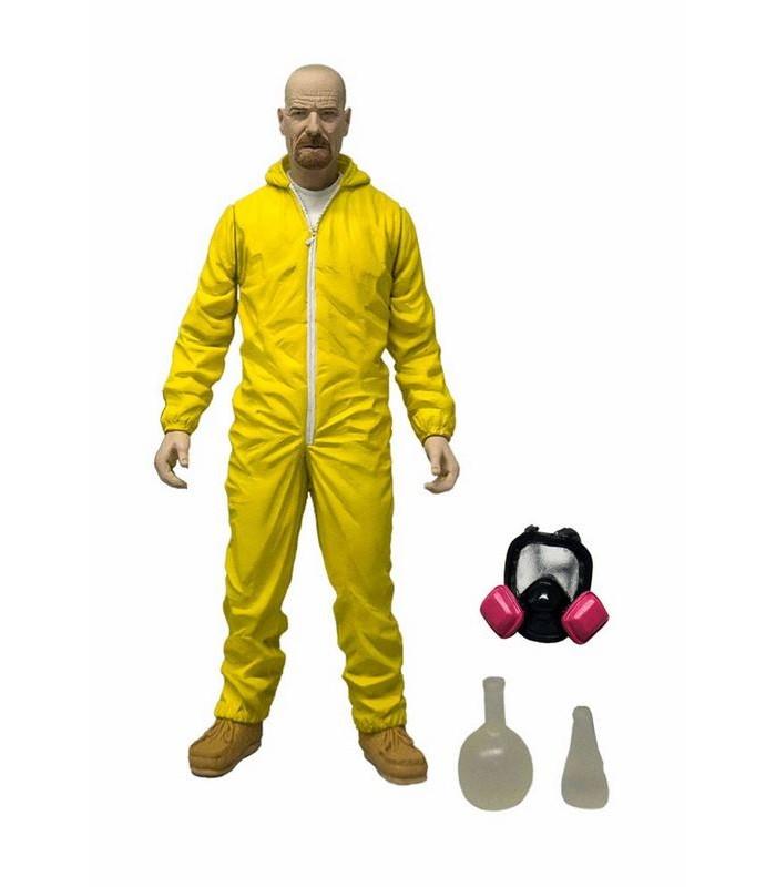 Breaking Bad Figura Heisenberg traje materiales peligrosos 15 cm