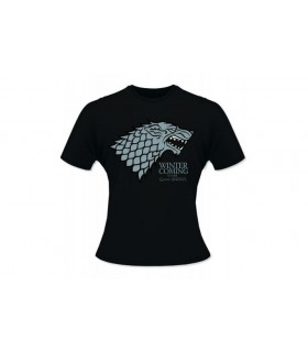 Camiseta Stark Winter is Coming Juego de Tronos
