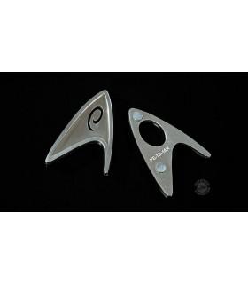 Star Trek 2009 réplica insignia magnética Ingeniero de la Flota Estelar