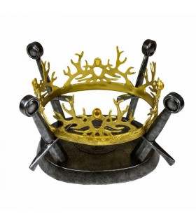 Réplica de la corona de la Casa Baratheon - Juego de Tronos