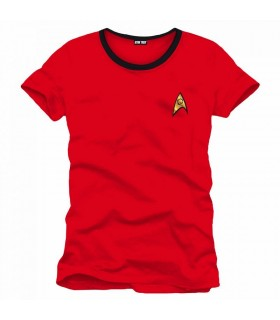 Camiseta uniforme Star Trek Ingeniería